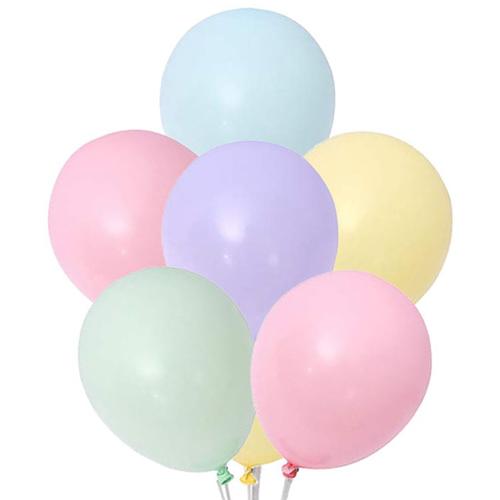 Makaron karışık renkli balon