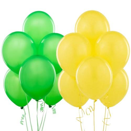 sarı yeşil balon