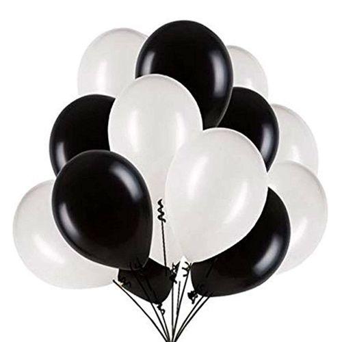 siyah beyaz balon