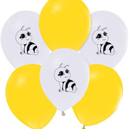 Arı Temalı baskılı balon