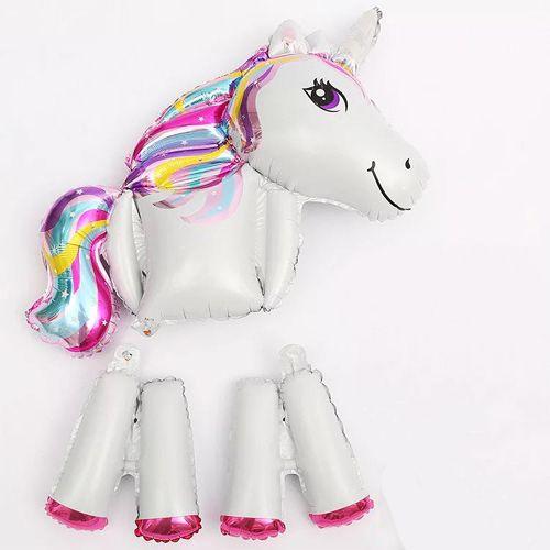 unicorn ayaklı folyo balon
