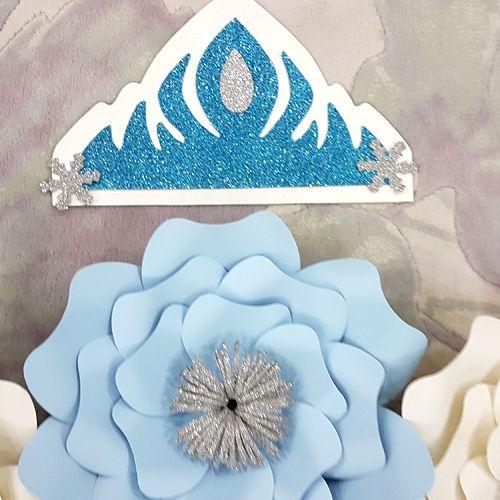 frozen 2 kağıt çiçek modelleri