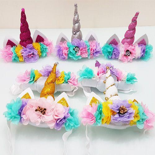 Unicorn Bandana Taç Modelleri