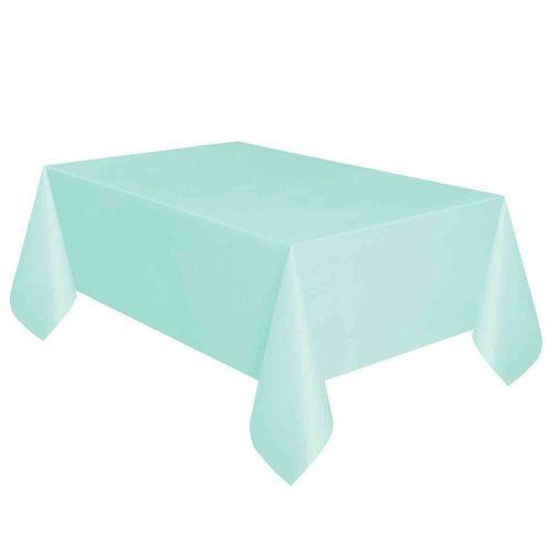 su yeşili masa örtüsü