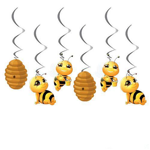 Arı Temalı asma tavan süsü