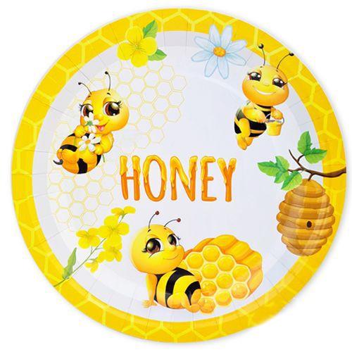Arı Temalı tabak