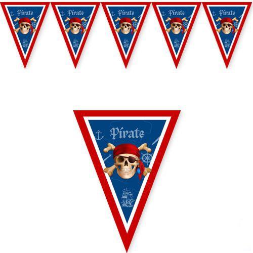 Korsan Temalı flama bayrak