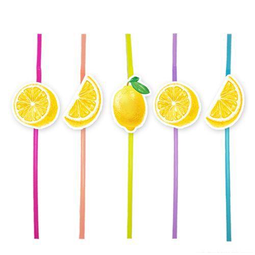 limon temalı pipet