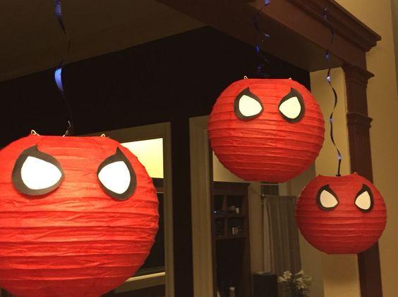 spiderman parti fikirleri