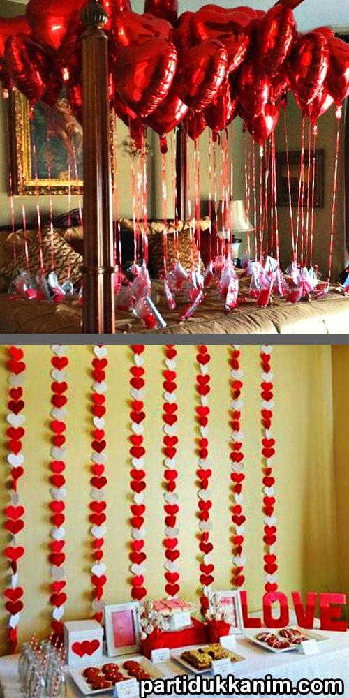sevgiliye özel balon süslemeleri