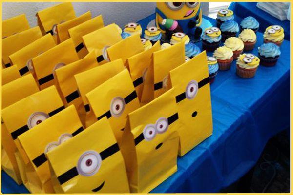 Minions doğum günü parti fikirleri