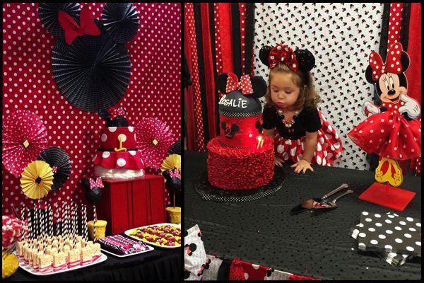 Minnie Mouse doğum günü parti fikirleri