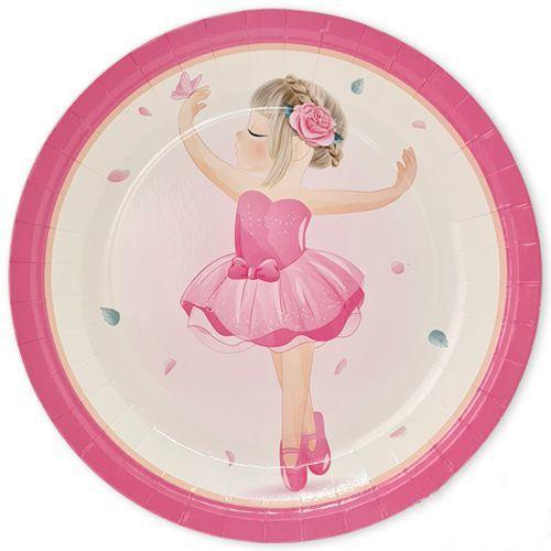 balerin temali tabak