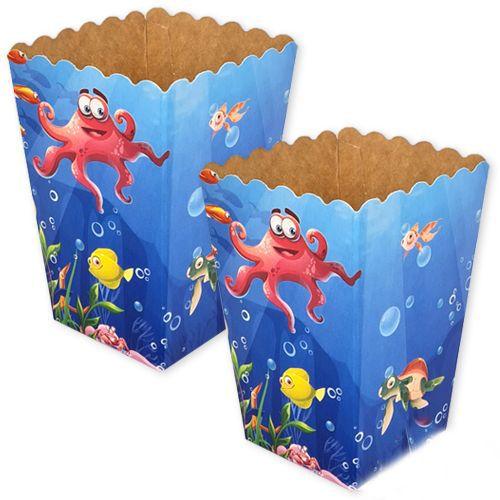 deniz canlıları mısır kutusu