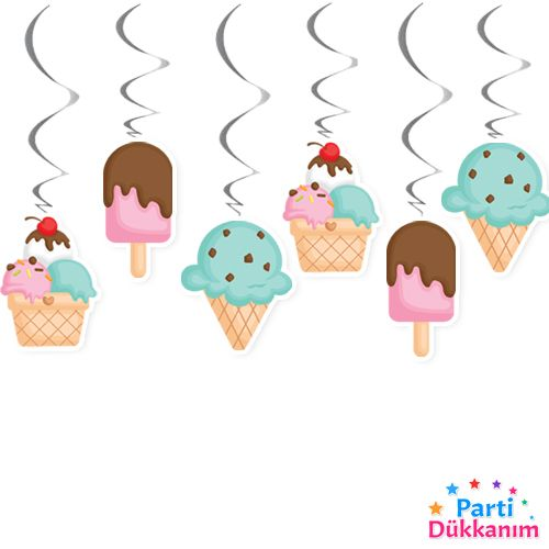 dondurma temali asma tavan süsü