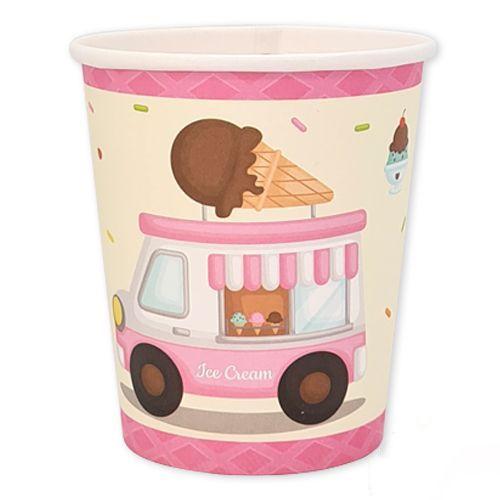 dondurma temali bardak