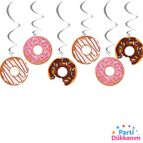 donut temali asma tavan süsü