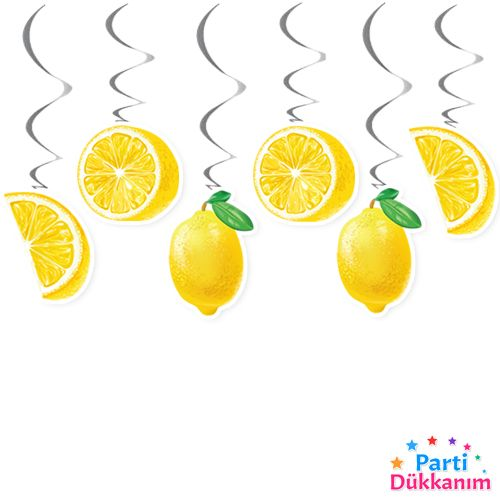 limon temalı asma tavan süsü