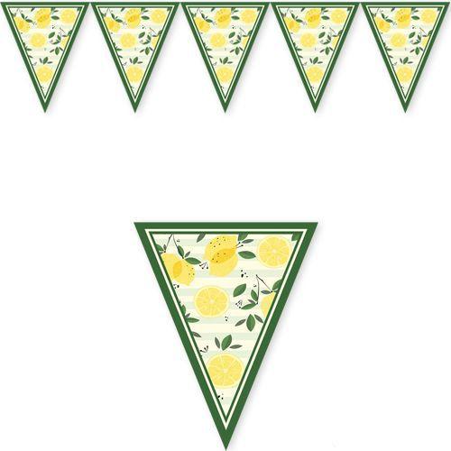 limon temalı flama bayrak