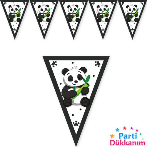 panda flama bayrak