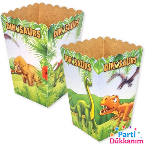sevimli dinozor mısır kutusu