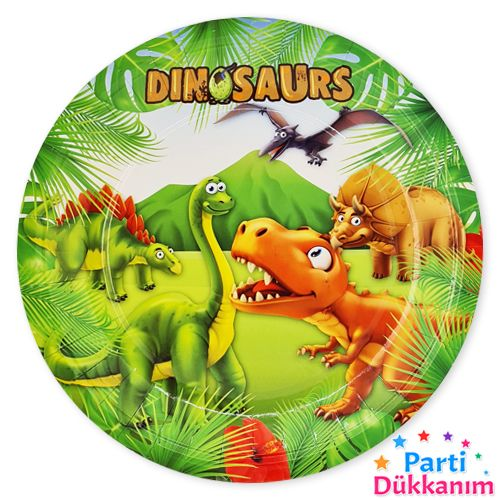 Sevimli Dinozor tabak