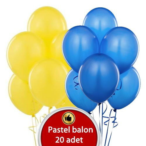 Sarı Mavi Balon