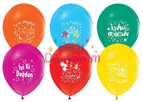 iyiki doğdun balon