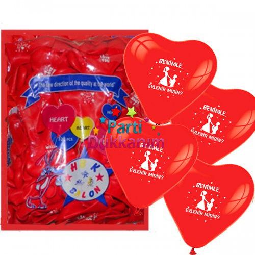 Benimle Evlenirmisin Balonu
