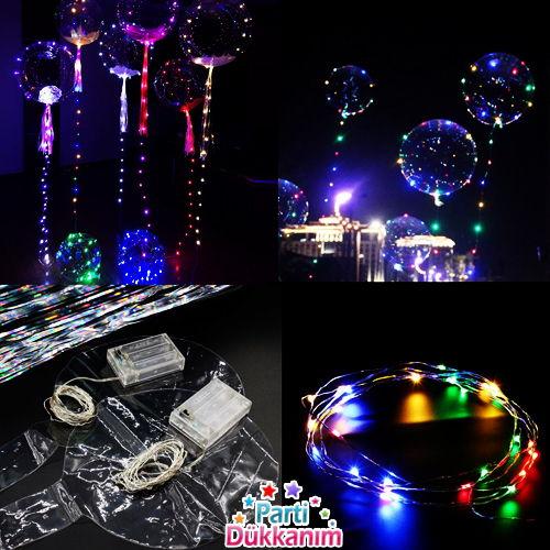 Led Işıklı Şeffaf Balon Çeşitleri