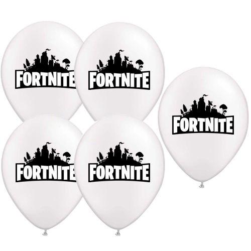 Fortnite baskılı balon