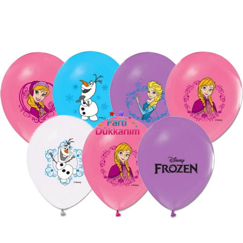Frozen balon