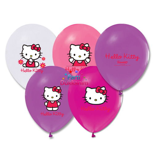 Hello Kitty lisanslı balon