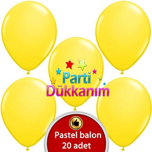 Batman sarı balon