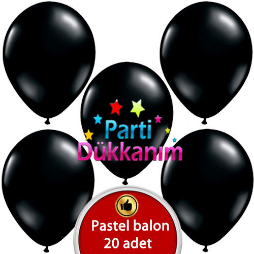 Batman siyah balon
