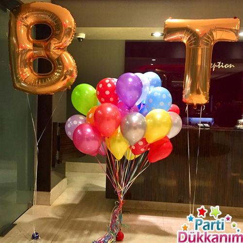 Harf Folyo Balon İsme Özel