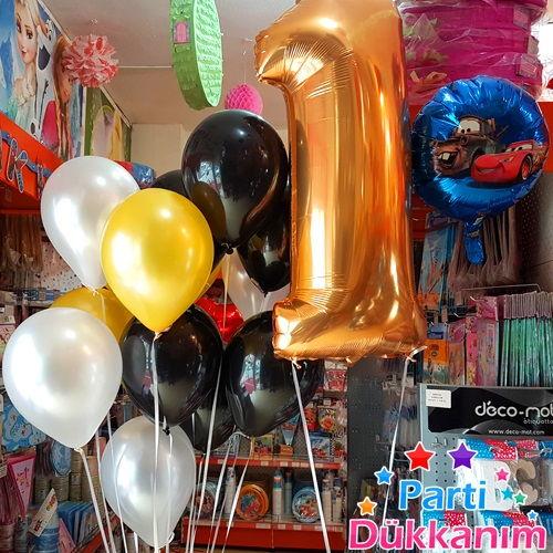 rakam folyo balonlar