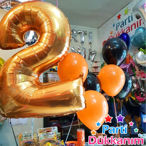 rakam folyo balon satın al