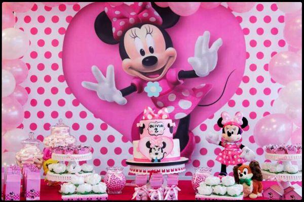 Minnie Mouse İle Farklı Bir Doğum Günü