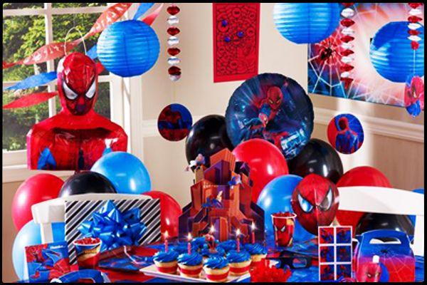 Spiderman Doğum Günü Partisi