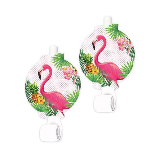 Flamingo Parti Düdüğü 6 Adet, fiyatı