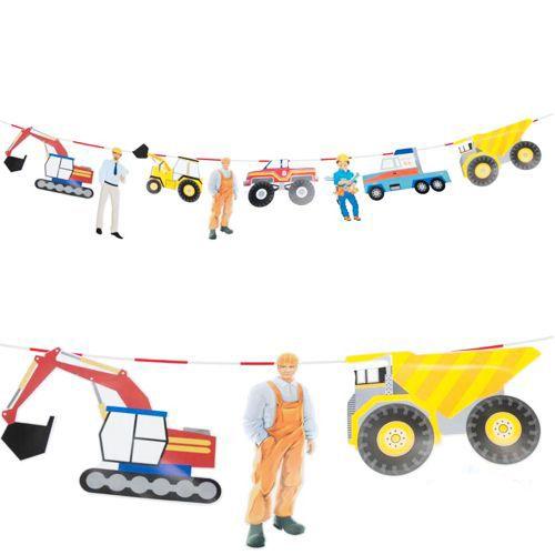 İş Makineleri Garland Dekor Süs 2.50 metre, fiyatı