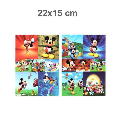Mickey Mouse Sticker 22x15 cm 1 Adet, fiyatı