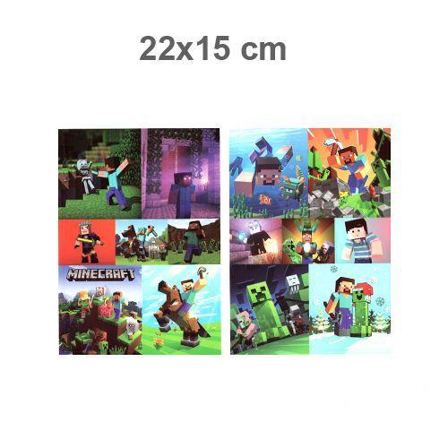 Minecraft Sticker 22x15 cm 1 Adet, fiyatı