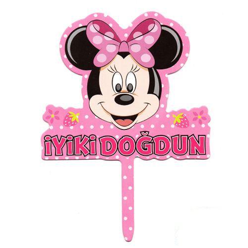 Minnie Mouse Karton Pasta Süsü, fiyatı