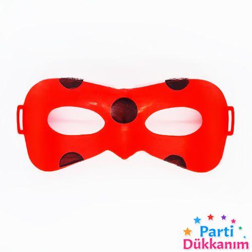 Miraculous Uğur Böceği Plastik Maske 1 Adet, fiyatı