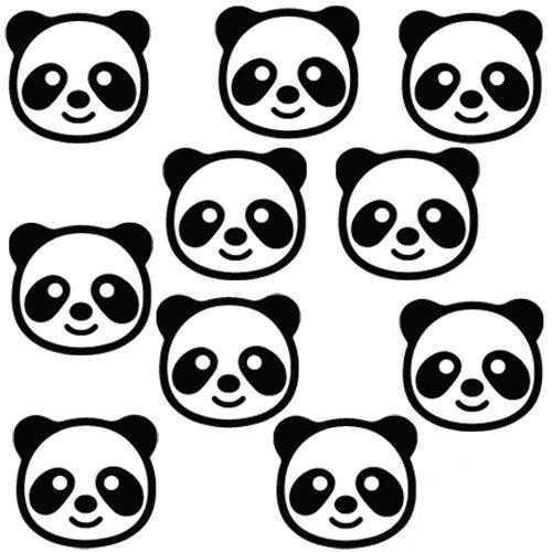Panda Masa Konfetisi 4x4 cm 25 Adet, fiyatı