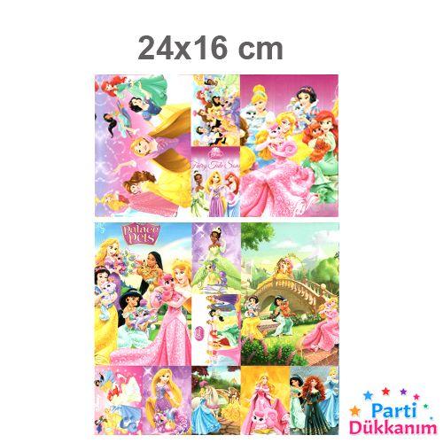 Prensesler Sticker 24x16 cm 1 Adet, fiyatı