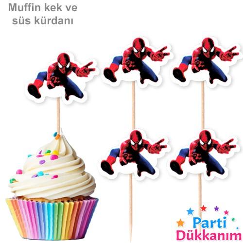 Spiderman Kürdan 20 Adet, fiyatı
