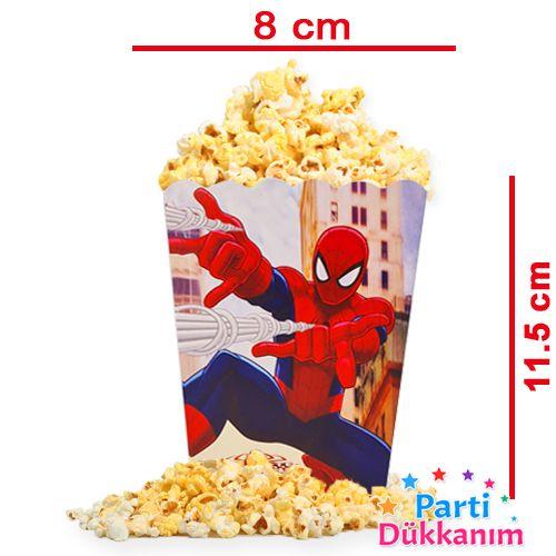 Spiderman Mısır Kutusu (10 Adet), fiyatı